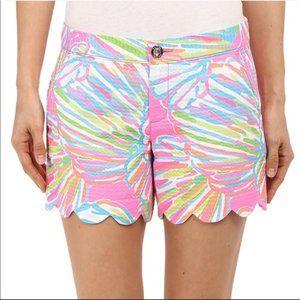 EUC Lilly Pulitzer Butuercup Shorts, Size 8